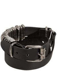 Ann Demeulemeester Wrap Around Leather Bracelet