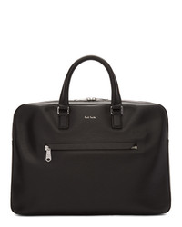 Paul Smith Black Bright Stripe Business Folio Briefcase