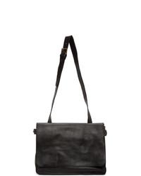 Officine Creative Black Rare 24 Tuscan Briefcase