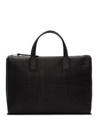 Loewe Black Textured Goya Simple Briefcase