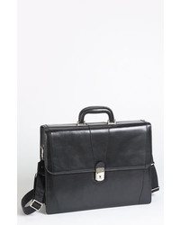 Bosca double gusset briefcase medium 680768