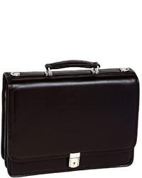 McKlein Bucktown Leather Briefcase