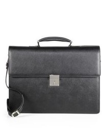 Saks Fifth Avenue Collection Leather Briefcase