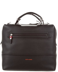 Christian Dior Dior Homme Pebbled Leather Briefcase W Tags