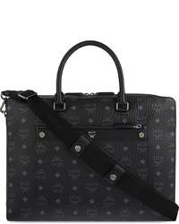 MCM Markus Visetos Leather Briefcase