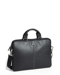 58126ea3b5 Black Leather Briefcases for Men | Men's Fashion | Lookastic.com