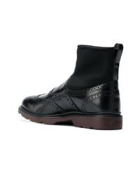 Hogan Ankle Brogue Boots