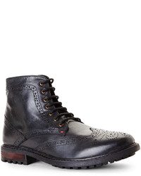 Ben Sherman Black Sanford Boots