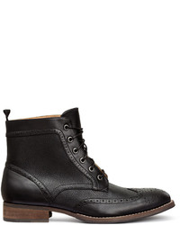 H&M Brogue Style Boots Black