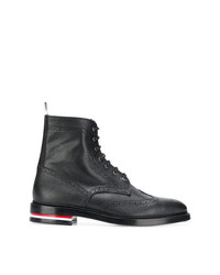 Thom Browne Classic Wingtip Ankle Boots