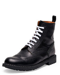 Givenchy Commando Leather Runway Boot