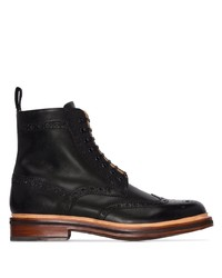 Grenson Fred Leather Ankle Boots