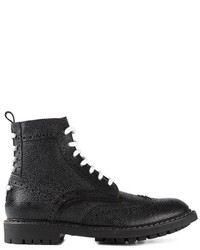 Givenchy Lace Up Brogue Boots