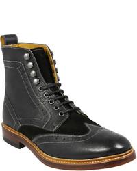 0feb0754ca61 ... Stacy Adams Madison Ii Leather Wingtip Boots