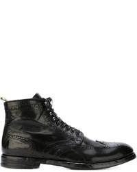 dd9a0cd9c959d Men's Brogue Boots by Officine Creative   Men's Fashion   Lookastic.com