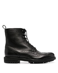 Tagliatore Perforated Leather Boots