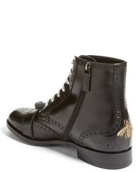gucci queercore. gucci queercore buckle strap wingtip boot