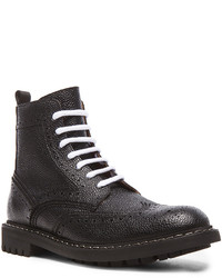 Givenchy Runway Leather Commando Boots