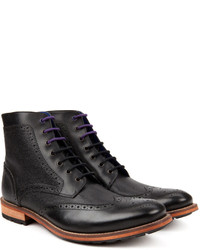 Ted Baker Sealls Leather Wingtip Ankle Boots