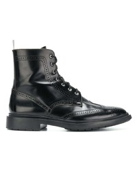 Thom Browne Shiny Leather Classic Wingtip Boot