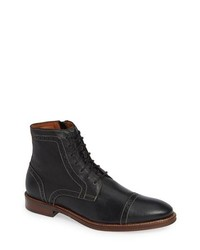 Johnston & Murphy Warner Cap Toe Boot