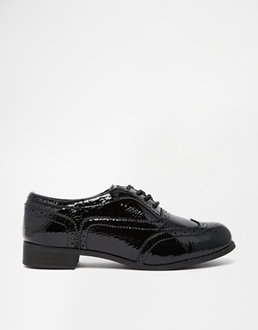 253c52098 ... London Rebel Barnaby Lace Up Brogues Black Patent