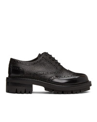 DSQUARED2 Black Bobby Lace Up Loafers