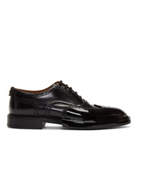 Burberry Black Leather Len Brogues