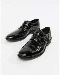 ASOS Edition Brogue Shoes In Black