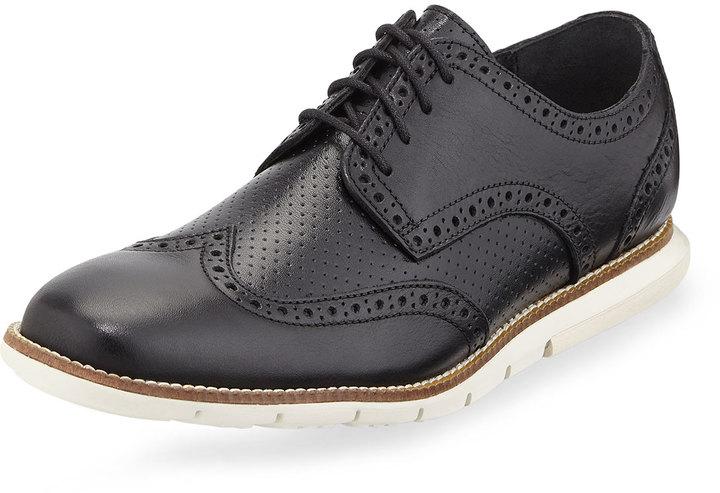 ... Cole Haan Grandsprint Wingtip Oxford Black