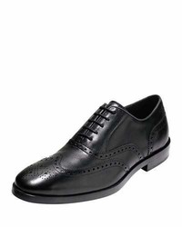Cole Haan Hamilton Grand Wing Tip Oxford Black