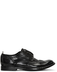 Officine Creative Black Anatonia 3 Brogues