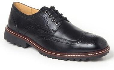 Get Comfortable Men's Brown Brenton Wingtip mens brown Sandro Moscoloni Mens lace ups