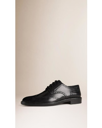 Burberry Wingtip Leather Brogues