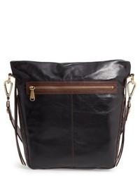 Hobo Banyon Calfskin Leather Bucket Bag Brown
