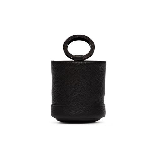 Simon Miller Black Bonsai 15 Leather Bucket Bag
