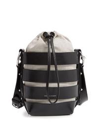 Rebecca Minkoff Cage Leather Bucket Bag