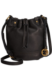 Lucky Brand Carly Leather Baby Bucket Bag