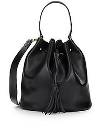 Carrie Leather Bucket Bag