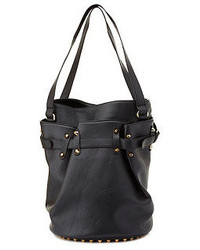 Charlotte Russe Studded Bottom Bucket Bag