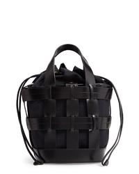 Trademark Cooper Cage Leather Nylon Tote