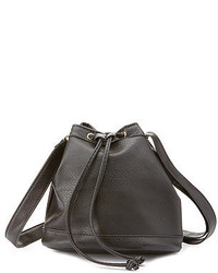 Charlotte Russe Cross Body Bucket Bag