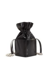 Kara Dirt Leather Bucket Bag