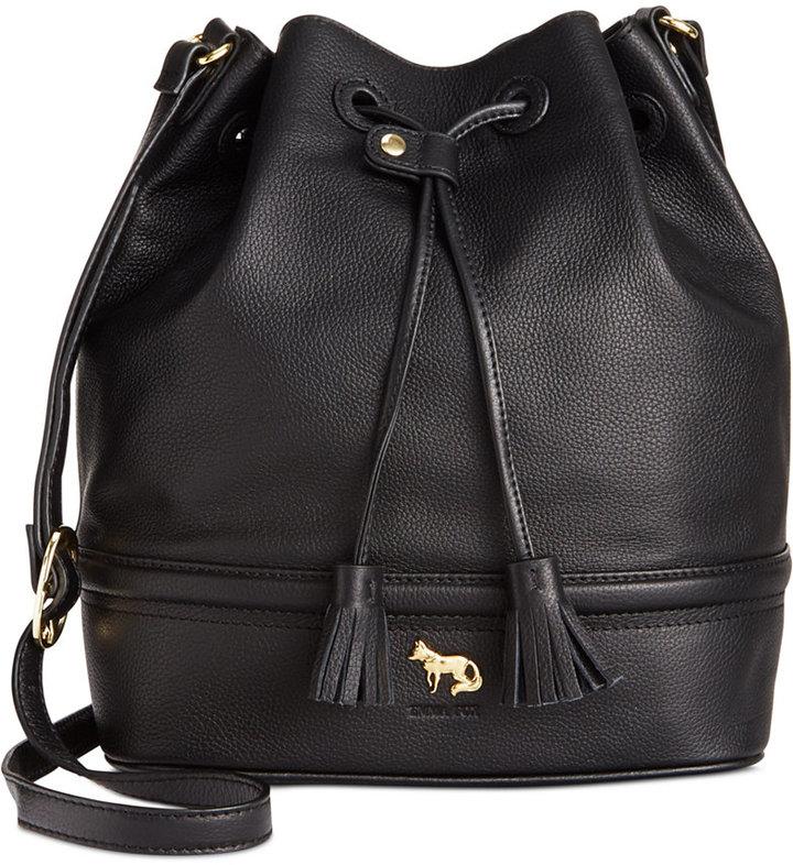 Bags Emma Fox Whitney Leather Bucket
