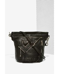Let it Ride Factory She Lo Leather Bucket Bag