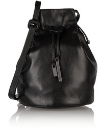 Halston Heritage Leather Bucket Bag