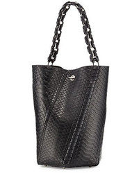 Proenza Schouler Hex Medium Bucket Bag Black