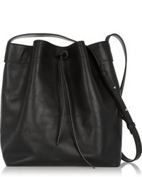 Brixton Iris Ink Leather Bucket Bag