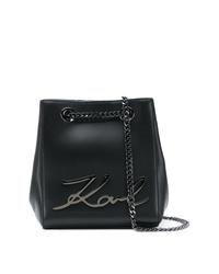 Karl Lagerfeld Ksignature Bucket Bag