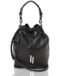 Tommy Hilfiger Leather Bucket Bag